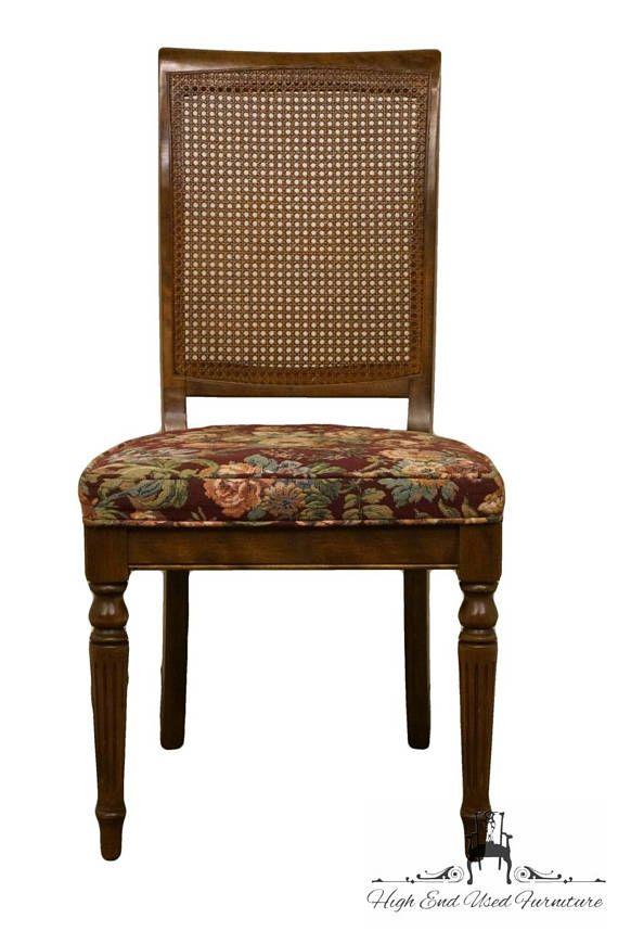 Ethan Allen Clic Manor Cane Back Dining Side Chair 15 6010