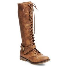 Magda Lace Up with Full Zip Tall Boots