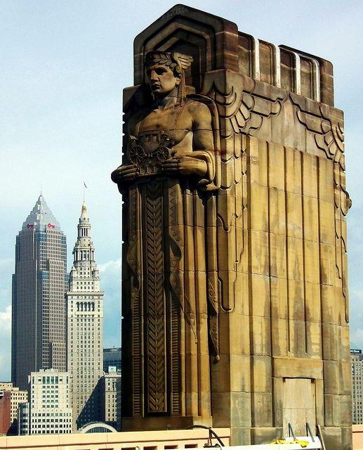 Guardians Of Traffic Art Deco Architecture Art Deco Art Deco Buildings