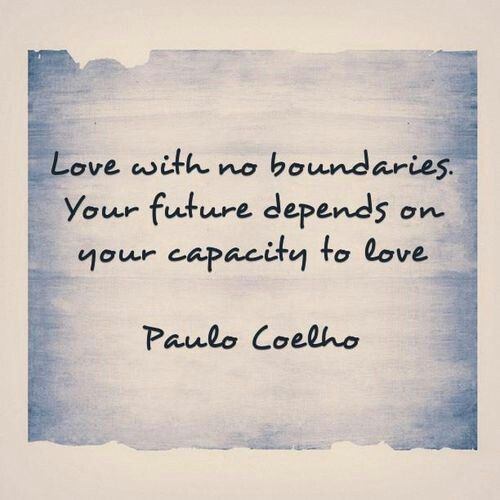 No bounderies.