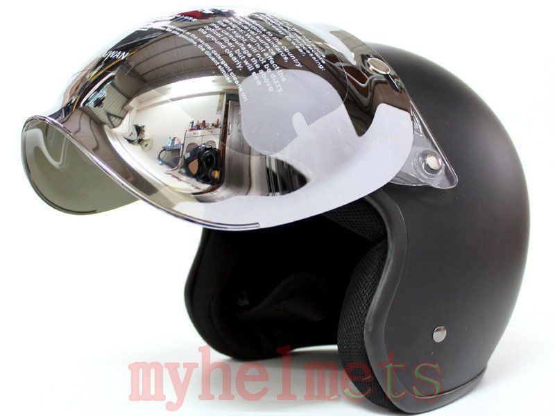 flip up bulle lunettes de moto visi re retro aviateur casque jet helmets motorcycle helmet. Black Bedroom Furniture Sets. Home Design Ideas
