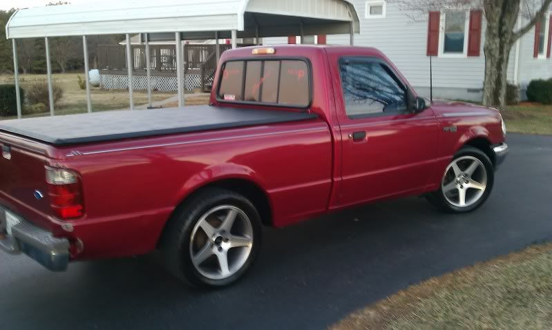 Pic Request 4 5 Drop On Saleen Wheels Page 2 Ranger Forums The Ultimate Ford Ranger Resource Ford Ranger Ranger Truck Mini Trucks