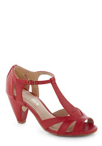 88eb6abcf937 Heel in Red by Chelsea Crew - Red