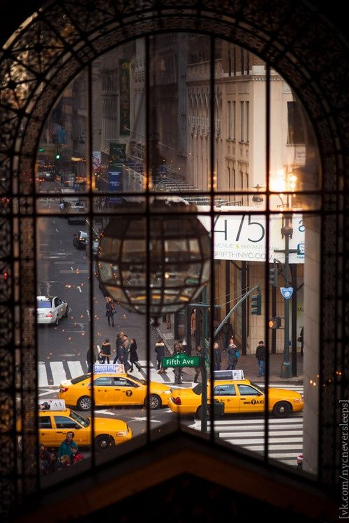 Fifth Avenue view, NYC