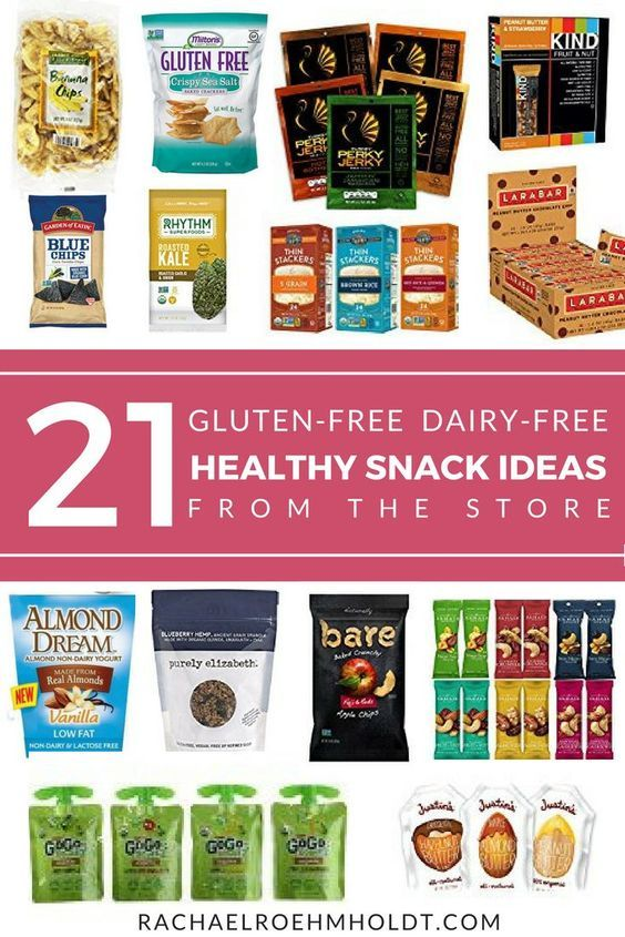 21 Healthy Store-Bought Gluten-free Dairy-free Snacks