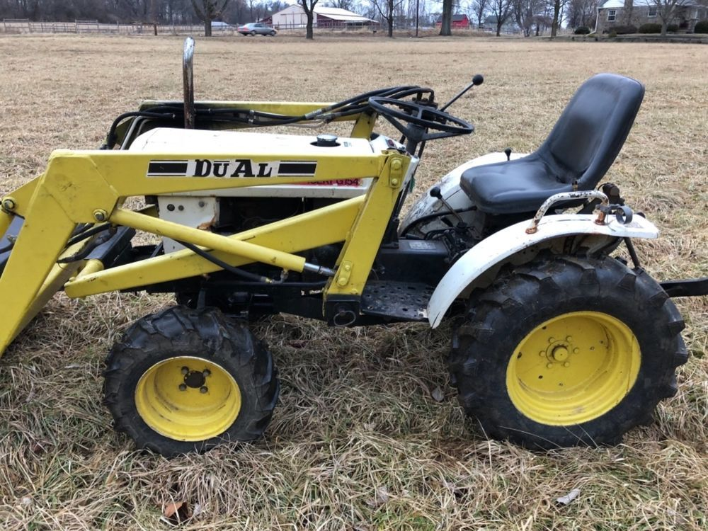 Bolens Iseki G154 TX1300F Diesel 4X4 Compact Tractor Loader
