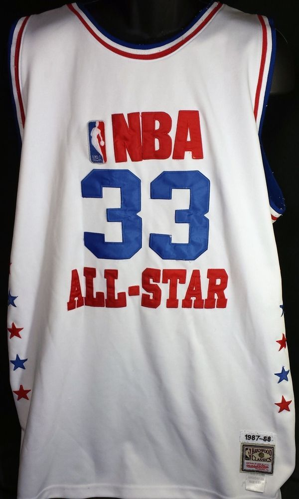 cheap for discount 26d83 ad0f8 Vintage Larry Bird Mitchell Ness 80s NBA All Star Jersey ...