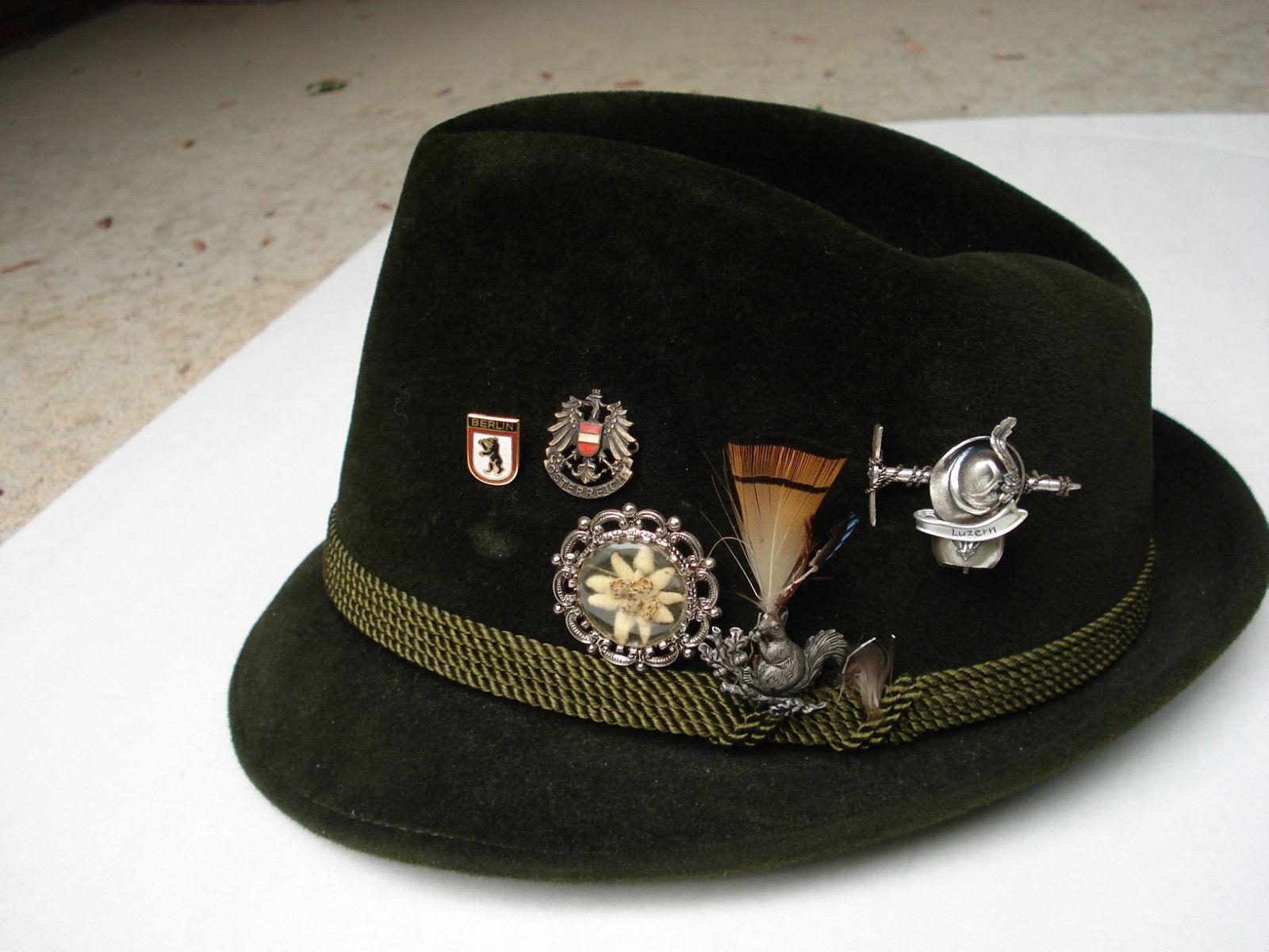 a4a8552ad Tyrolean hat | Trachten, Dirndl.....Heimat!! :) | Hats, Tirol ...