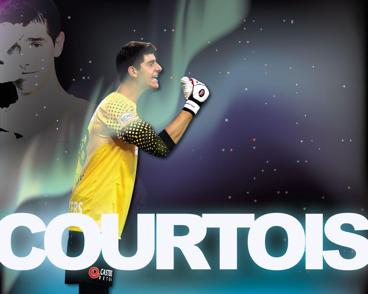 Thibaut Courtois Atletico Madrid Wallpaper