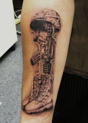 3113ece8f Fallen soldier memorial tattoo......I Have Been Planning On Getting This  Tattoo For A While now