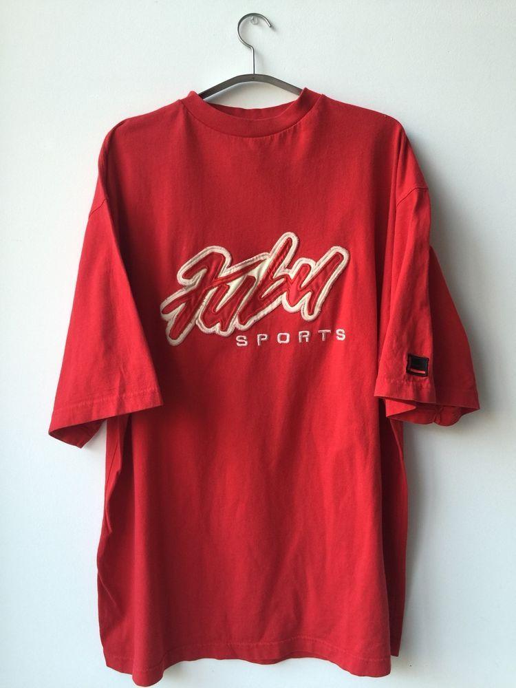 vintage 90 s fubu tshirt sz xl hip hop rap ironic