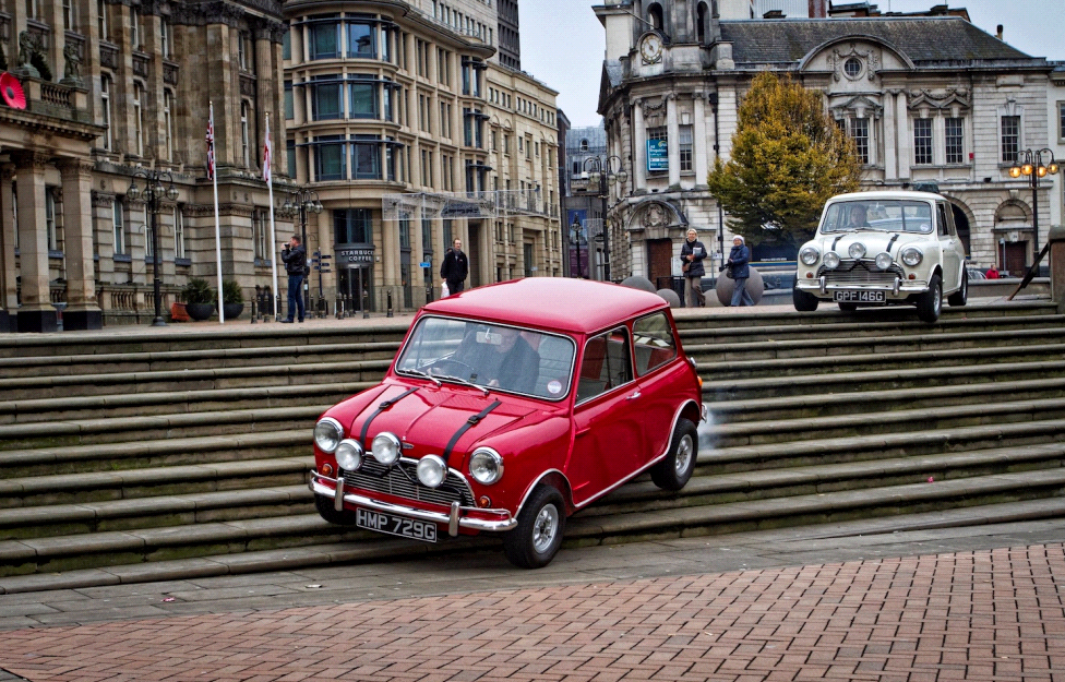 The Italian Job 1967 Mini Cooper Drive Classic Mini Red Mini
