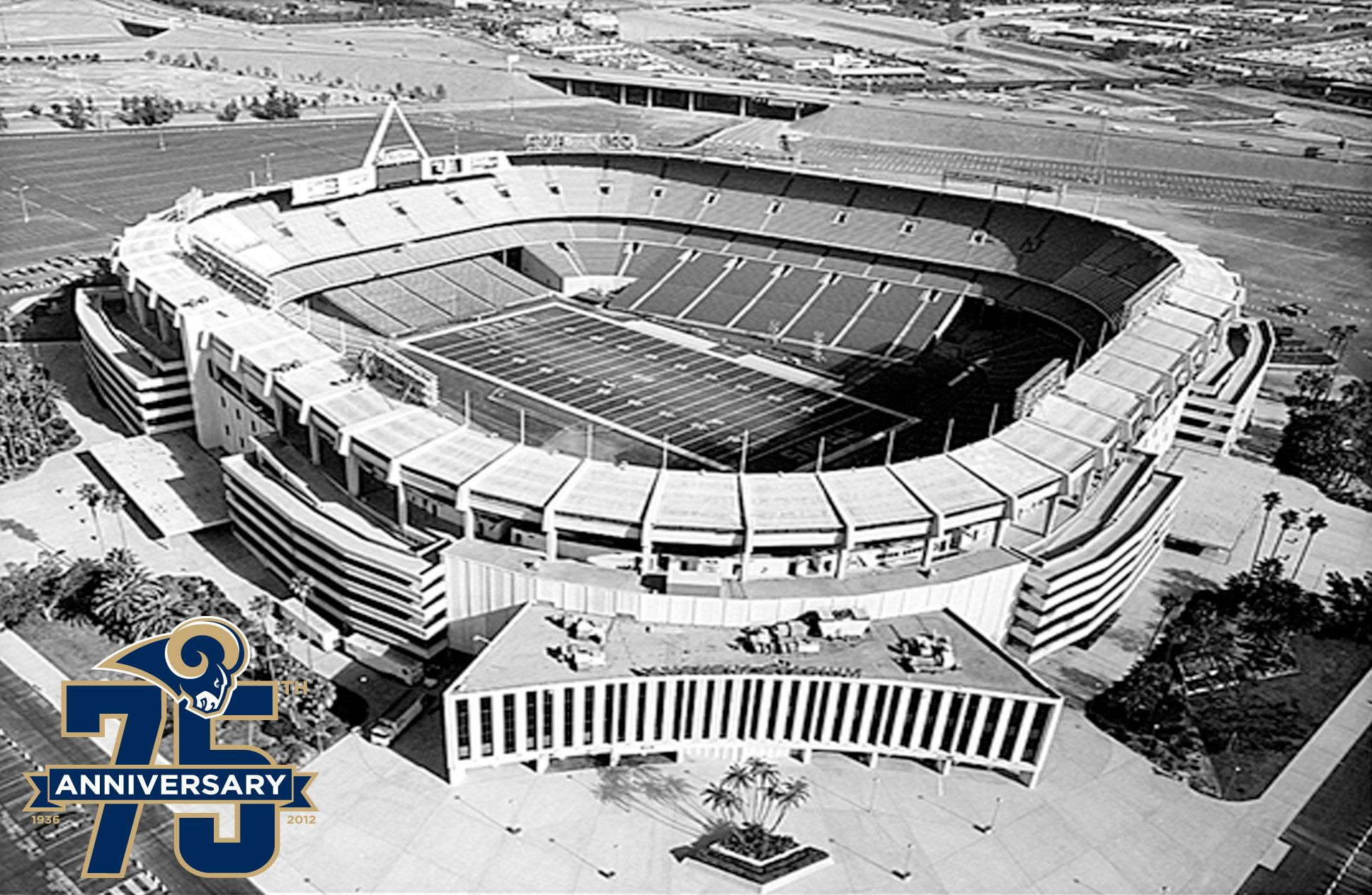 The Los Angeles Rams Called Anaheim Stadium Home From 1980 1994 The Stadium Opened In 1966 And Had Alre Nfl Stadiums Anaheim Angels Baseball Baseball Stadium