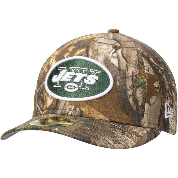 edf2fb3967a New York Jets New Era Low Profile 59FIFTY Hat - Realtree Camo ...
