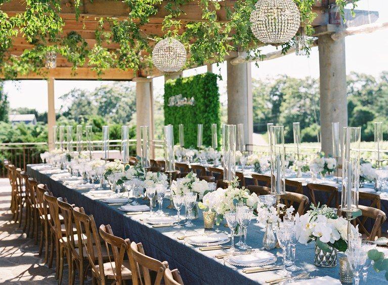 A New York Rangers Player S Vineyard Wedding In The Hamptons Vineyard Wedding Decor Vineyard Wedding Hamptons Wedding