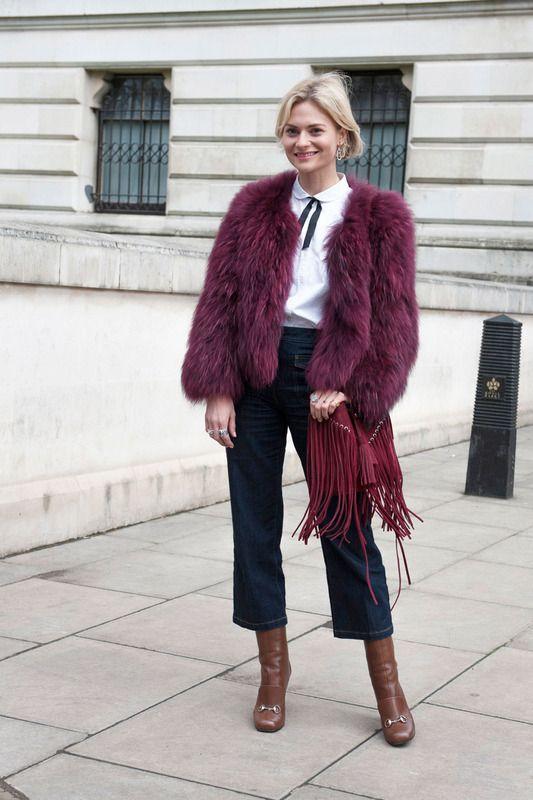 #London #streetstyle #fashionweek www.anochecio.com
