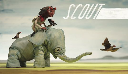 The Scout by Chris Sickels  www.rednosestudios.com