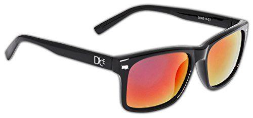 Dice Erwachsene Sonnenbrille, Shiny Black Lilac Revo, One size, D06210-27