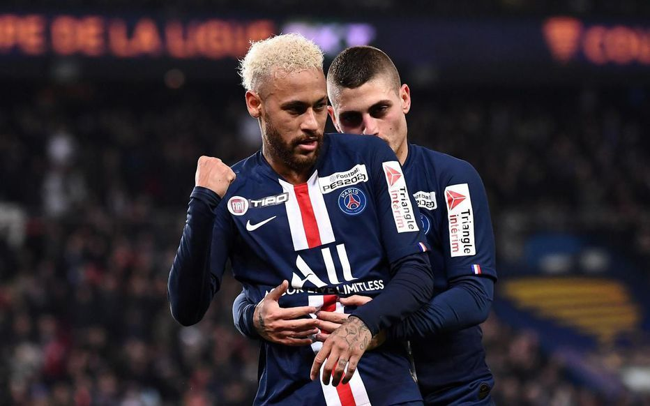 Video Psg Saint Etienne 6 1 Resume Buts Coupe De La Ligue En 2020 Psg Neymar Football