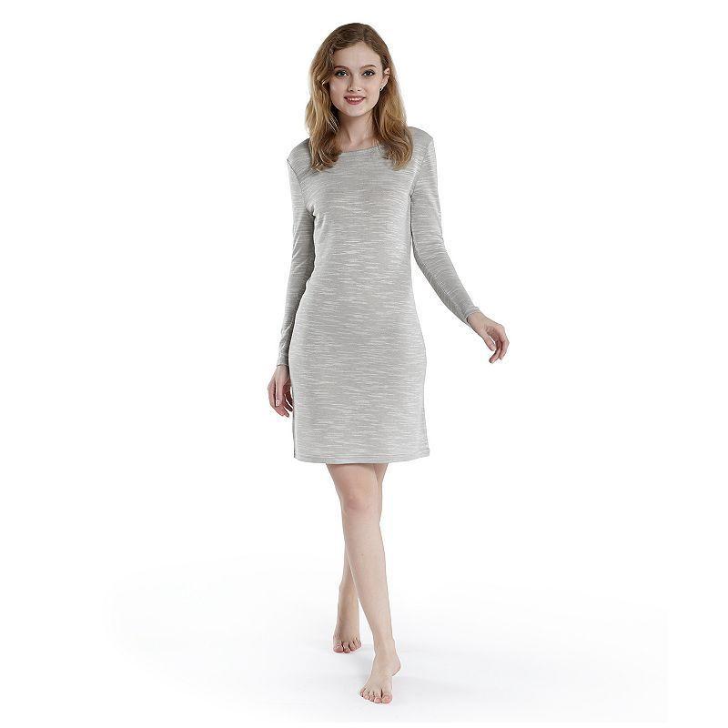 Women's Ink+ivy Pajamas: Fancy Slubbed Nightgown, Size: