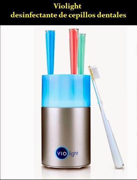 Violight, desinfectante de cepillos dentales | OdontoFarma