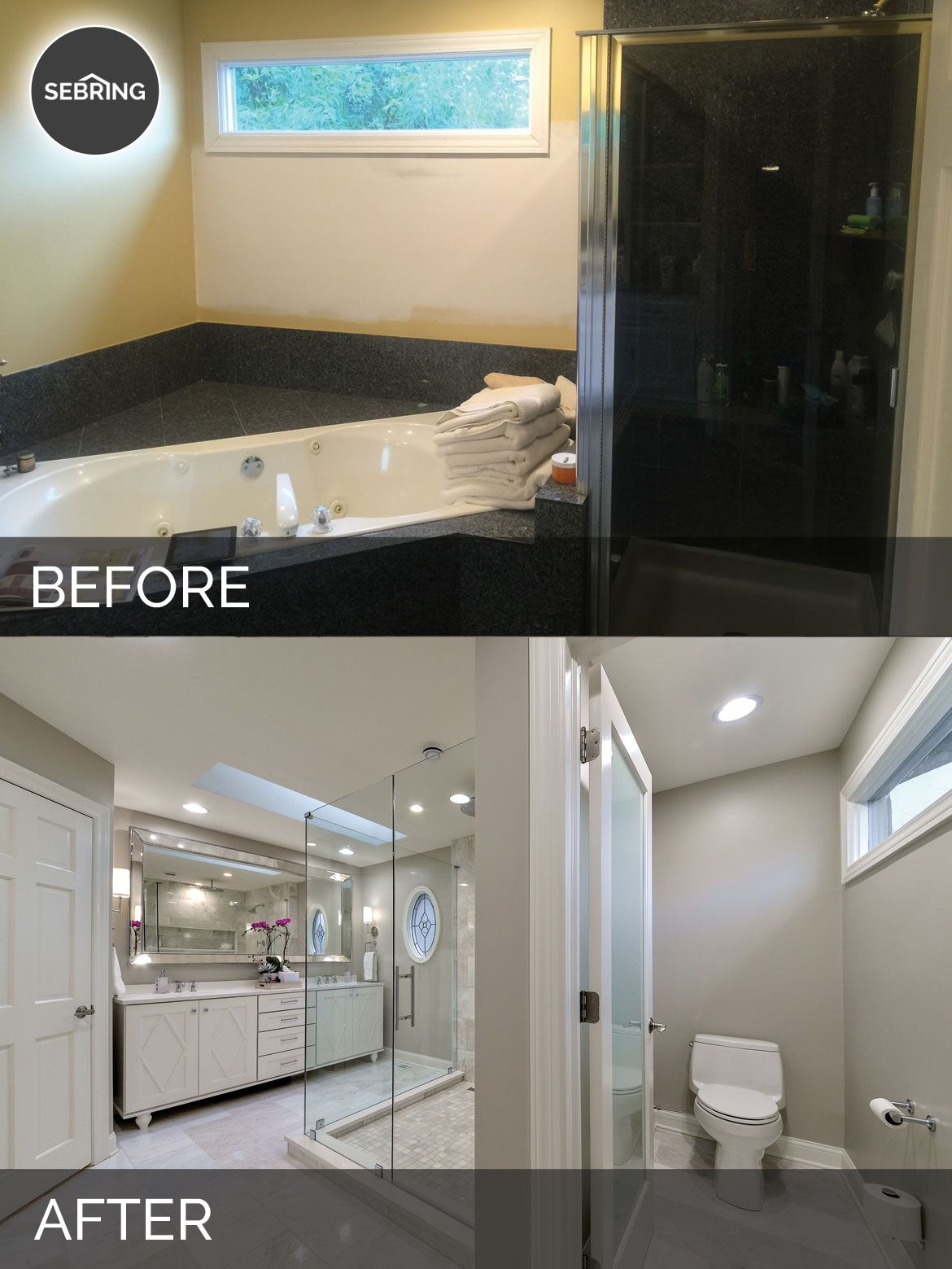 Bobby Lisa S Master Bathroom Before After Pictures In 2020