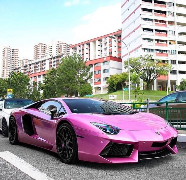 Pin by Victoria Mills on cars Pink