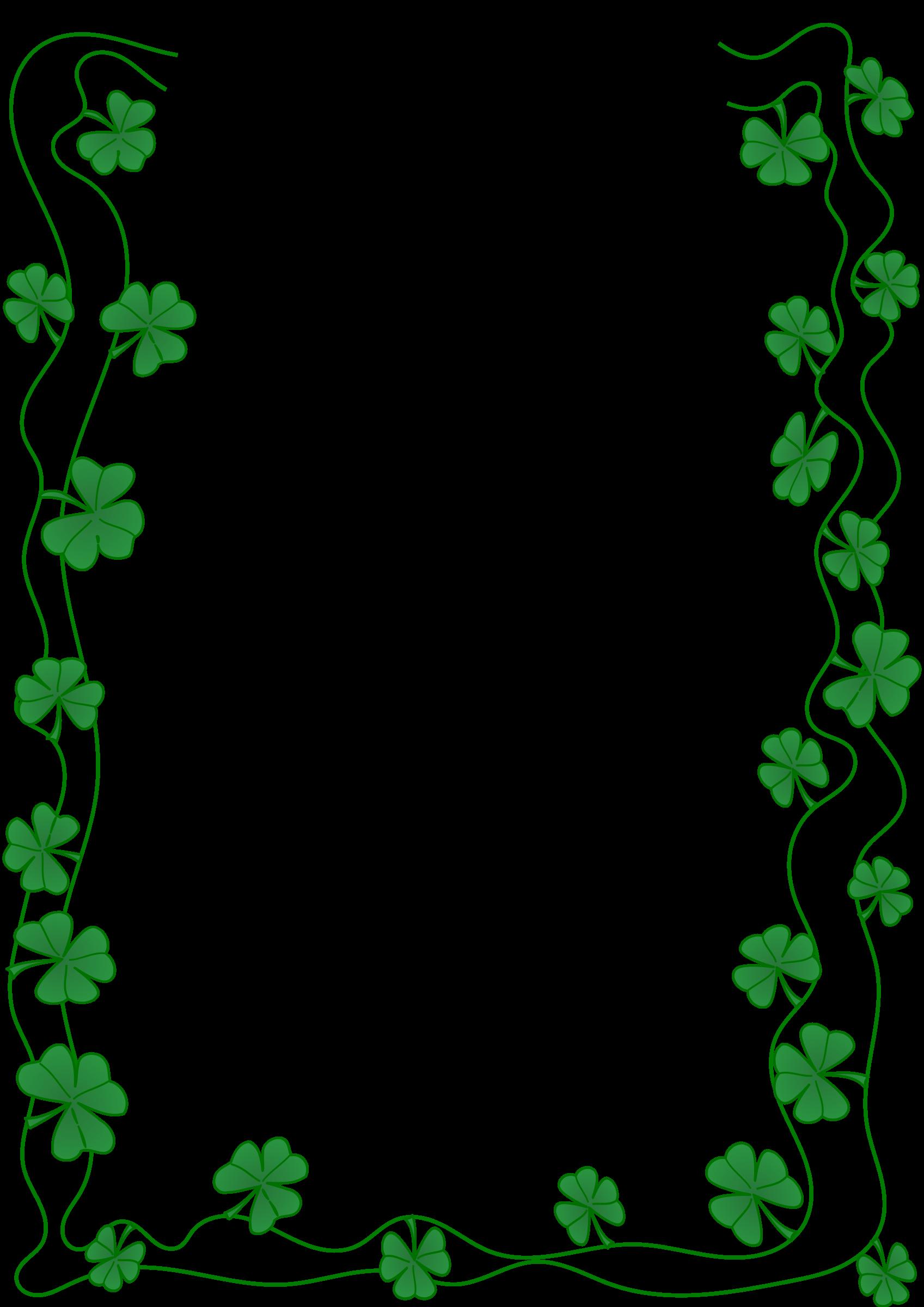 St Patrick S Day Border St Patricks Day Clipart St Patricks Day Saint Patricks Day Art