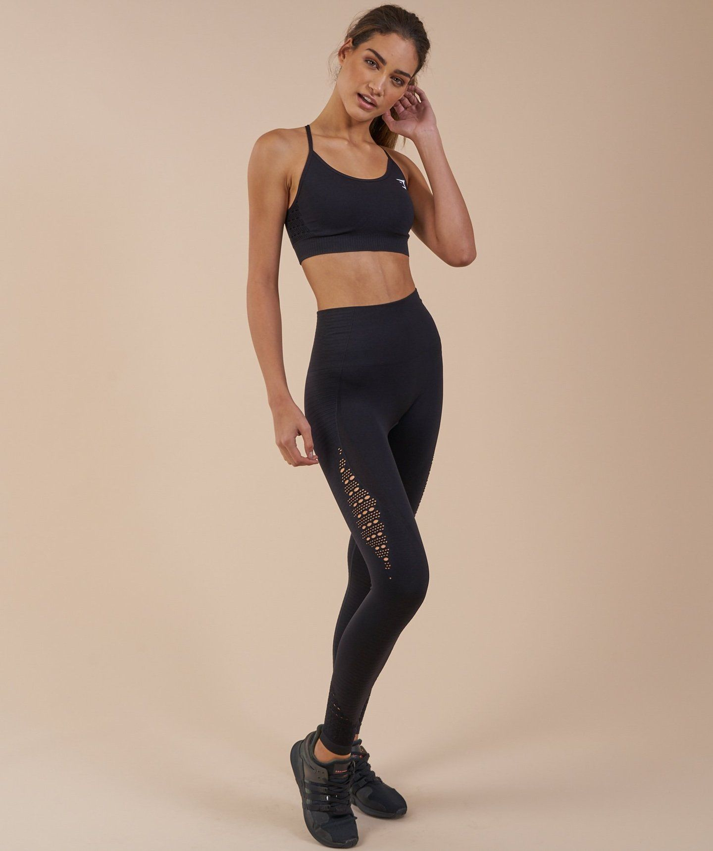 18563f0876eb1 Gymshark Energy Seamless High Waisted Leggings - Black | Activewear ...