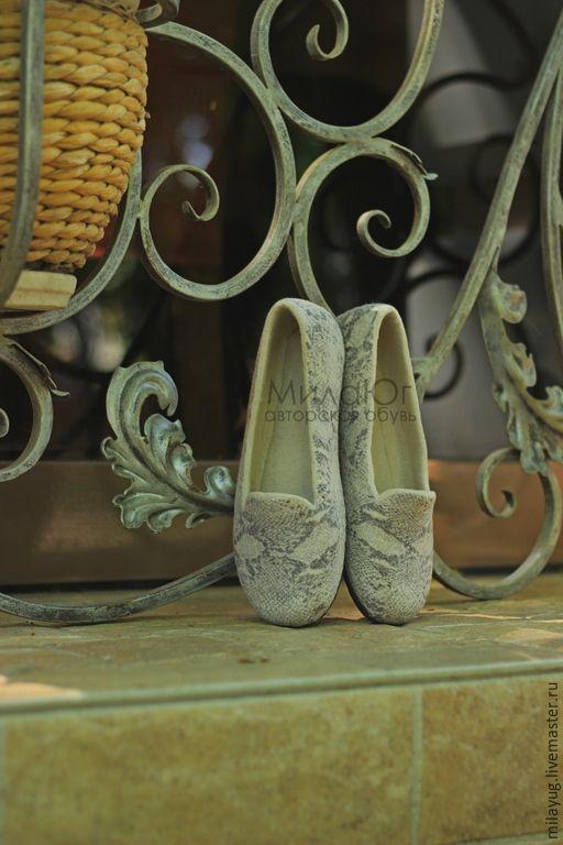 Обувь ручной работы. Ярмарка Мастеров - ручная работа. Купить