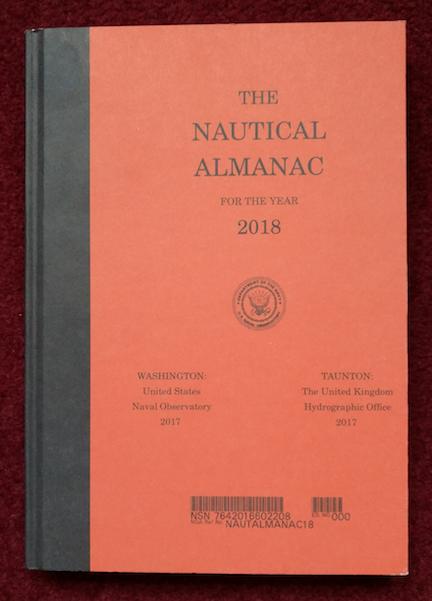 Picture Of The 2018 Nautical Almanac