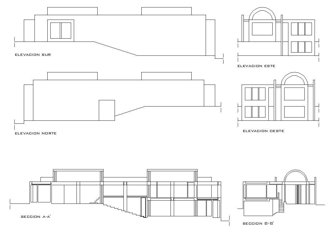 Casa matsumoto planos tadao ando cad design free cad - Cad casa gratis ...