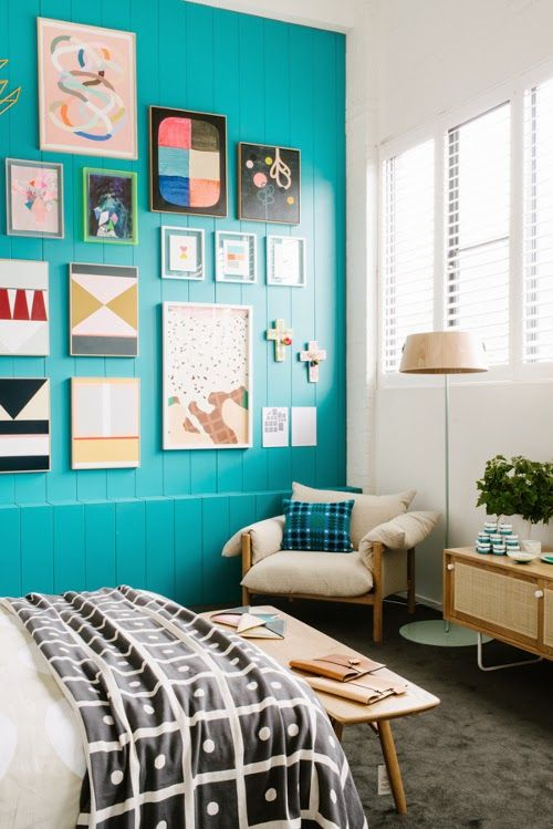 Design Is Mine Isn T It Lovely House Interior Home Bedroom Design Turquoise wall decor living room