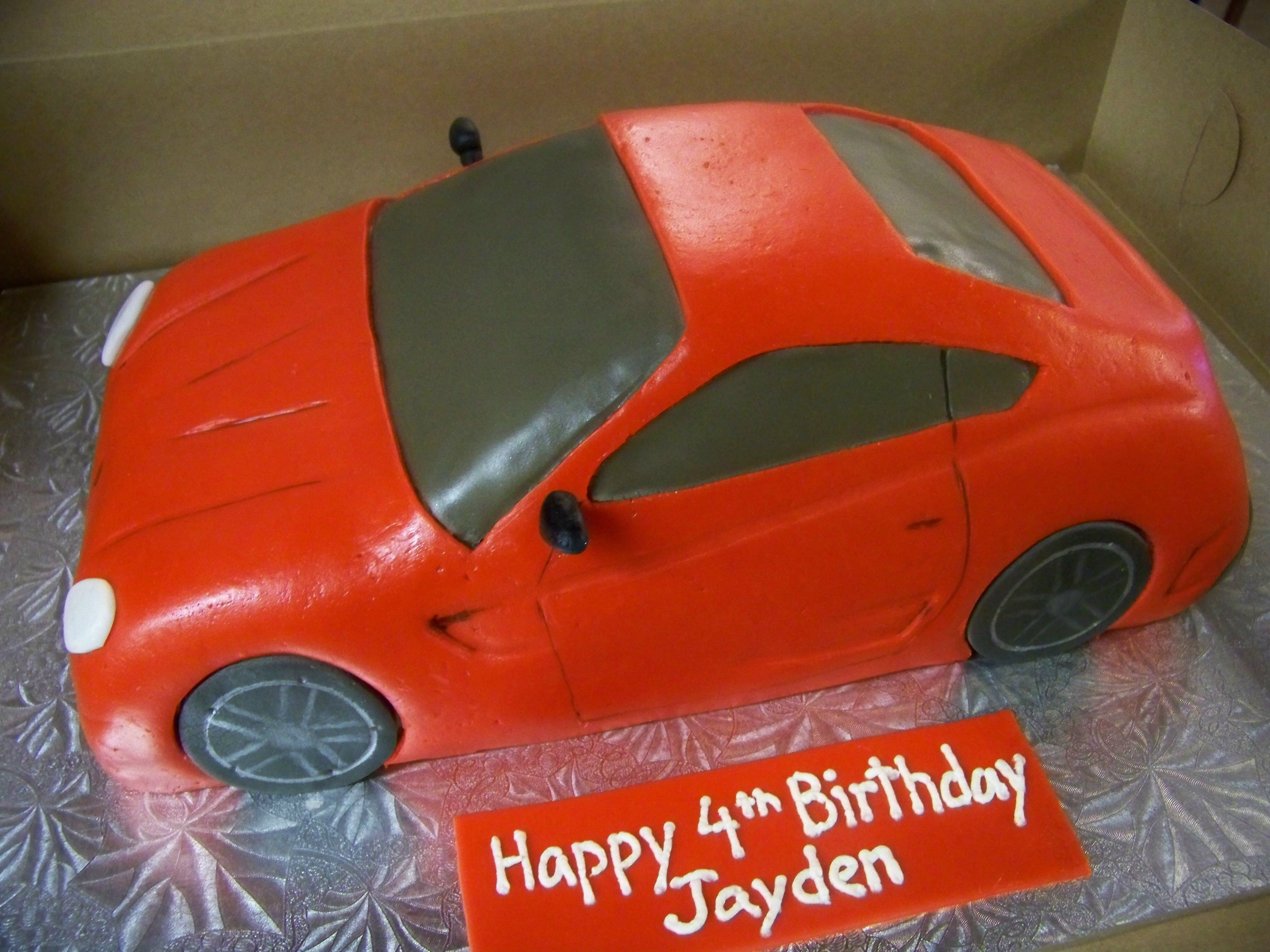 Red Sports Car Cake Yes It S Cake In 2018 Pinterest Cars