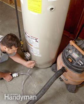 How To Flush A Water Heater Water Heater Repair Water Heater Diy Plumbing