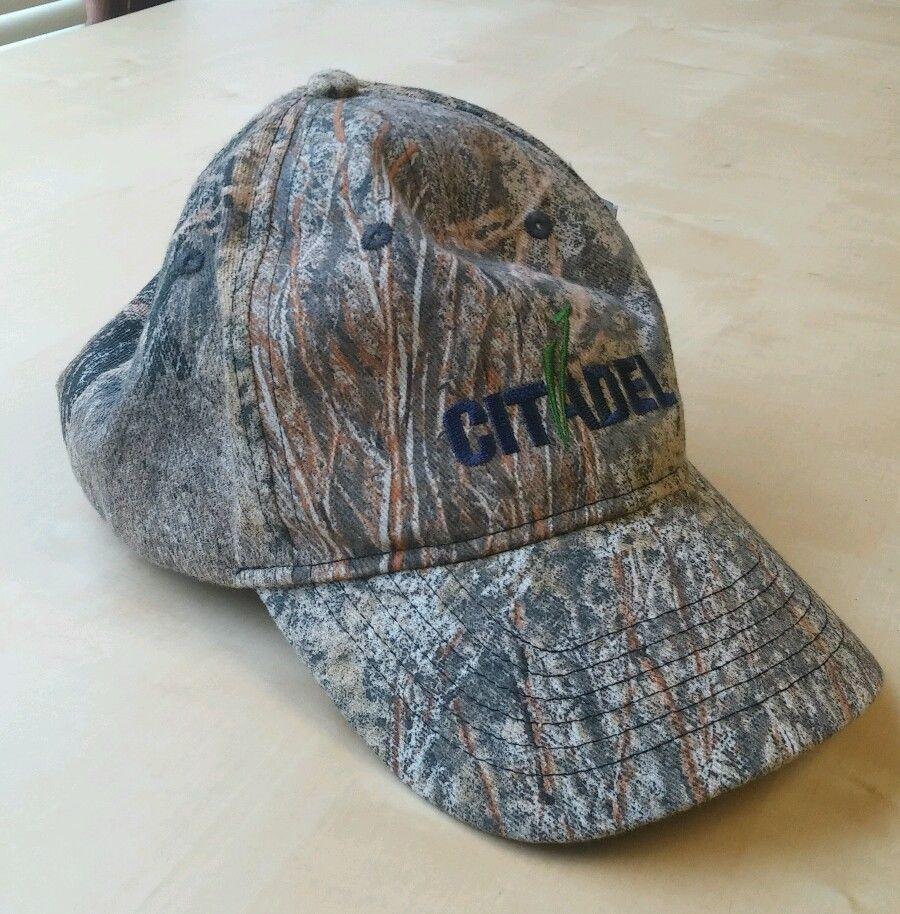 618a711dd8c97 Mossy Oak Brush Camo Predator Cap Citadel NWT in Sporting Goods ...