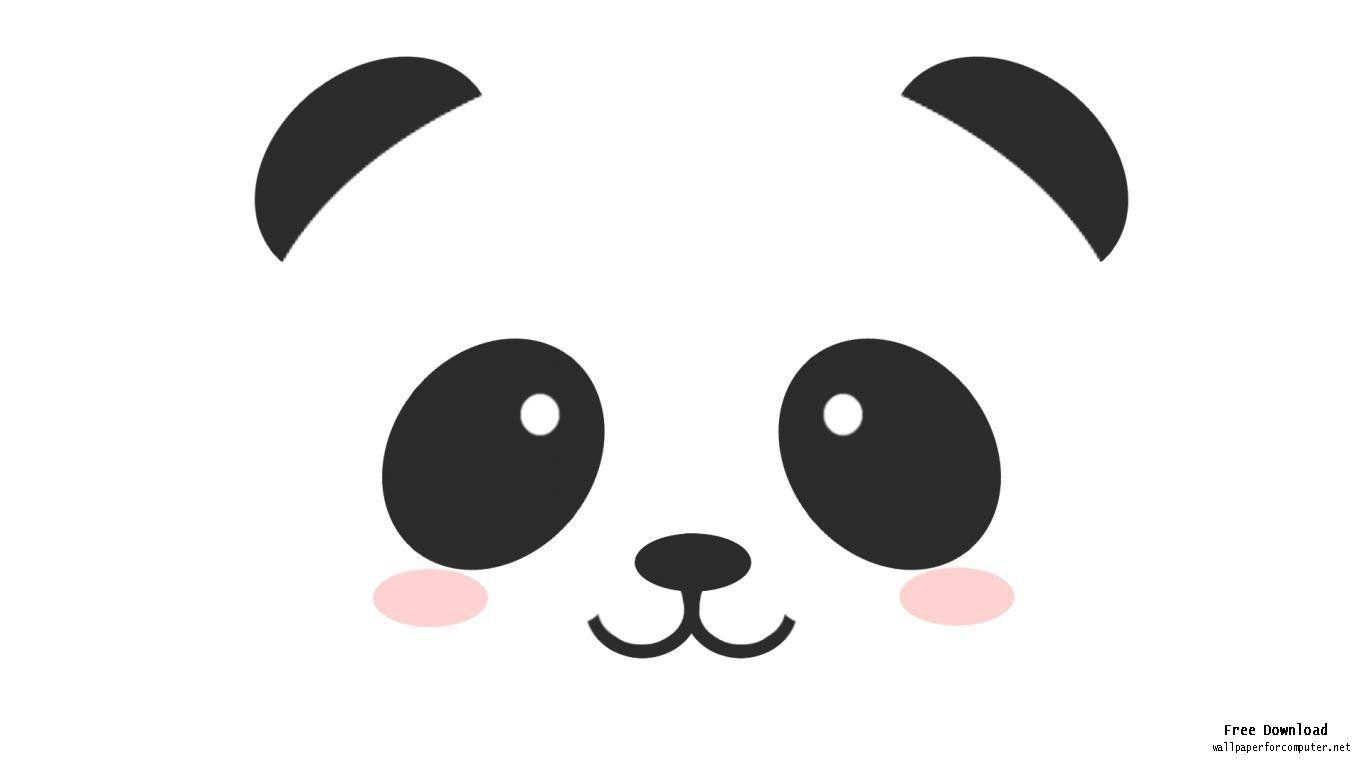panda face drawing - Google Search | DIY Ideas | Cute ... - photo#15