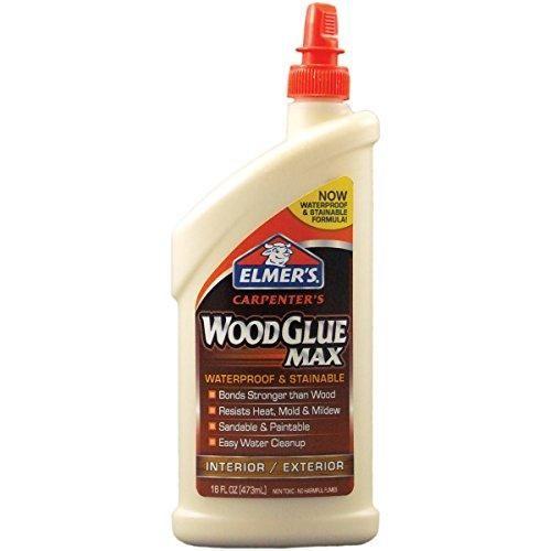 Photo of Elmer's E7310 Carpenter's Wood Glue Max, Interior/Exterior, 16 Ounces