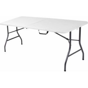 Cosco 6 Centerfold Table Multiple Colors Walmart Intended For Size 900 X  900 Folding Table And Chairs   The Tables Might Be Used With Tablecloths Or  Wi
