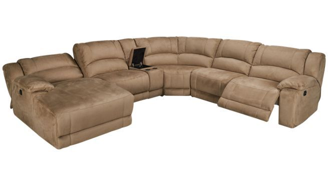 Htlf Furniture Jumbo 6 Piece Sectional Jordan S Furniture Furniture Sectional Living Room Furniture Sofas