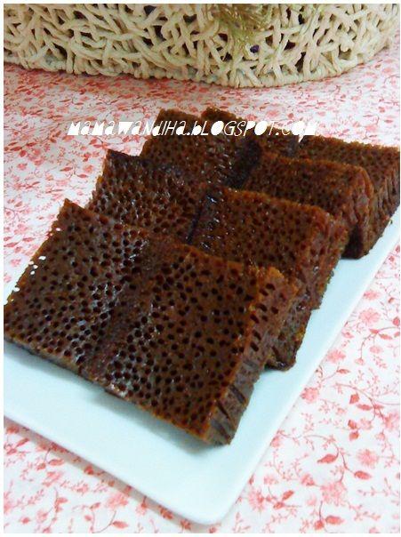 Dari Dapur Madihaa Kek Gula Hangus Sarang Semut