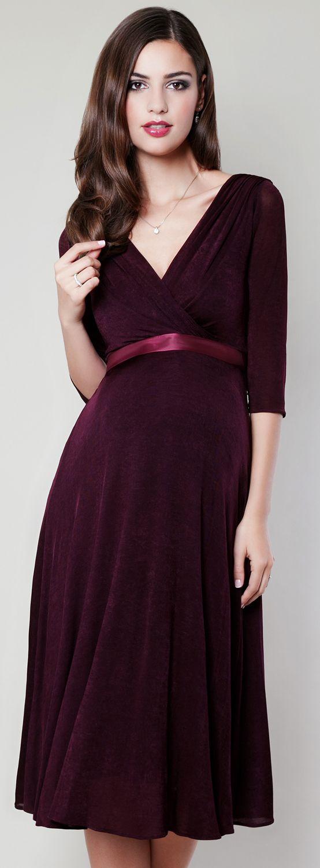 Trendfarbe der Saison und unglaublich feminin ist Burgundy ...