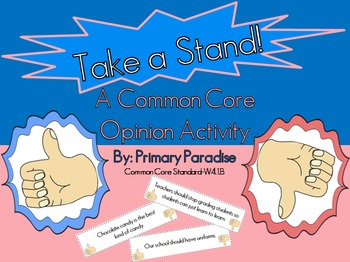 Take a stand essay topics