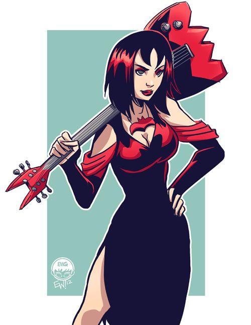 Hex Girl Raven