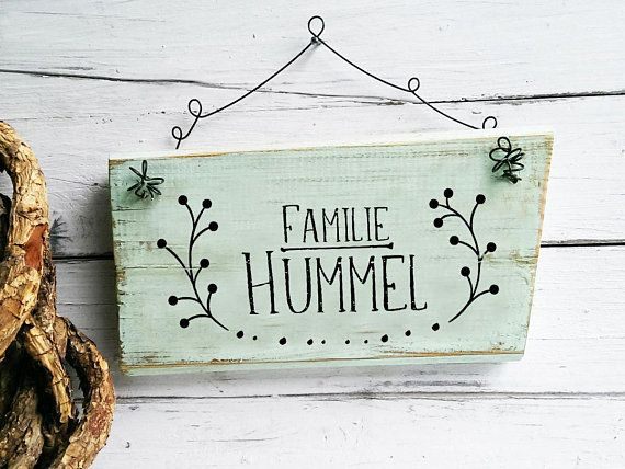 Photo of Front Door Sign Wooden Family Name Decor Personlized individualized print modern birthday gift idea women sister mom parents  in-laws