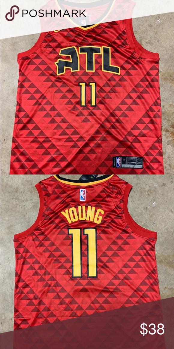 kuuma myynti verkossa juoksukengät hämmästyttävä hinta Trae Young #11 Atlanta Hawks Jersey Brand new with tag All ...