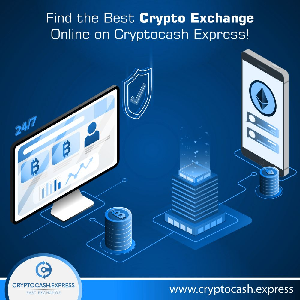where to exchange cryptocurrency for cash