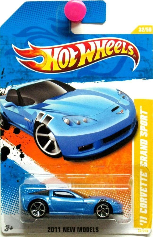 2011 Chevy Corvette Grand Sport Hot Wheels 2011 New Models 32 50 Blue Hotwheels Lamborghini Hot Wheels Hot Wheels Toys Hot Wheels Cars