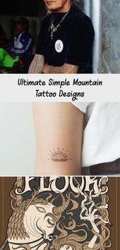 Ultimate Simple Mountain Tattoo Designs – Tattoos  Ultimate Simple Mountain Tattoo Designs Fresh the Ultimate Guide to Mountain Tattoos 70 S Mountain …