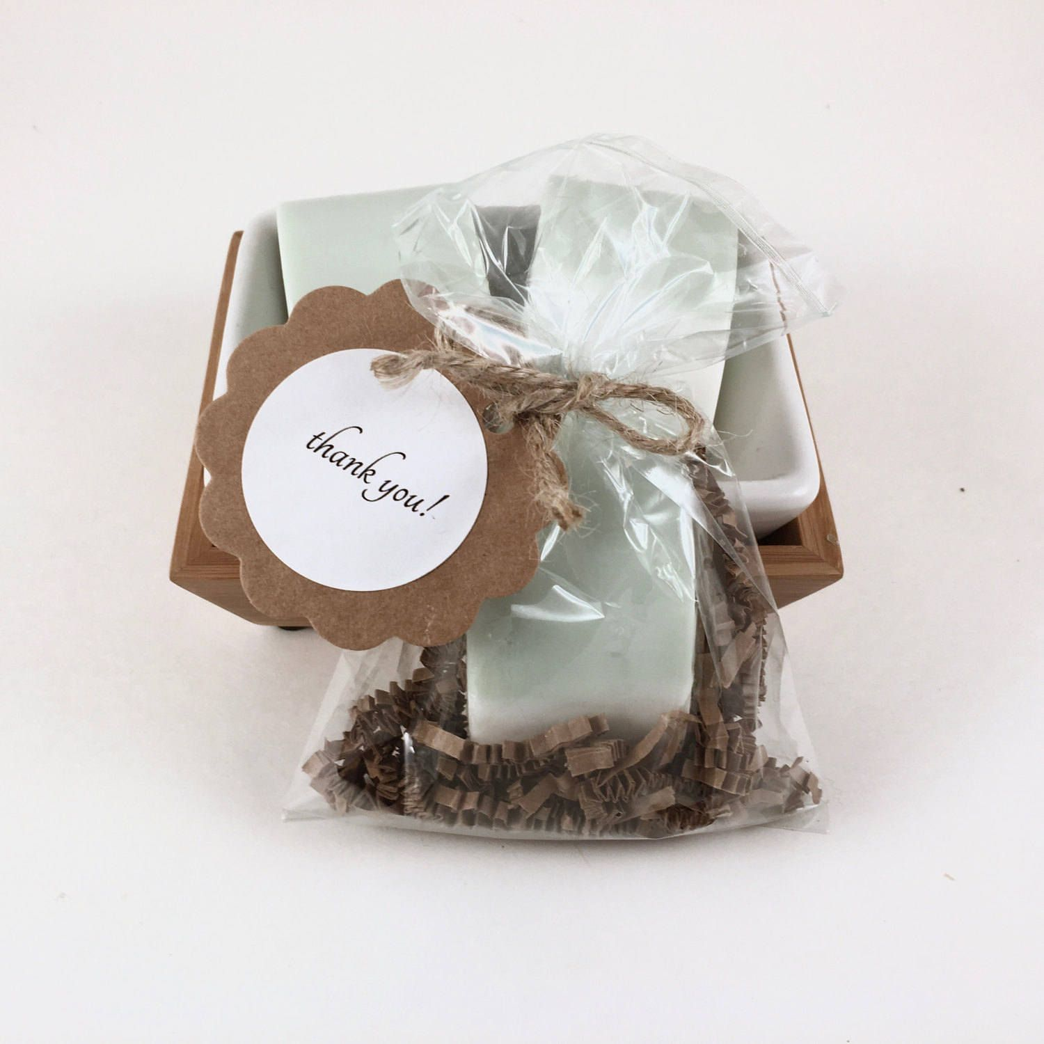 Bridal Shower Party Favors, Greenery, 15 Shea Butter Sage Green Soap ...
